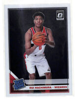 2019-20 Donruss Optic #188 Rui Hachimura Rated Rookie RC card Wizards