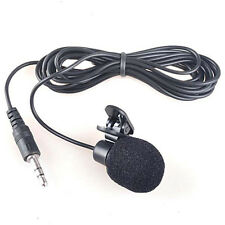 1Pc 3.5mm Hands-free Clip on Mini Lapel Microphone Mic for Computer PC Notebook