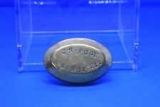 More details for rare welsh miners brass snuff box - the george pit, glamorganshire 1890s