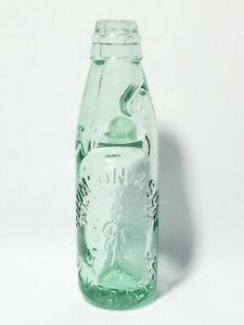 """19thC Thomson & Sons Dandy - Lion Ulverston Pictorial Codd Bottle 7.5"""" #1"""
