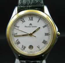 "R214 ⭐⭐ "" Maurice Laccroix "" Quartz Wrist Watch Date Display ⭐⭐"