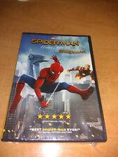 Spider-Man: Homecoming (DVD, 2017) BRAND NEW Peter Parker Avengers