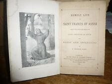 Home Life of Saint Francis Of Assisi. Notes by F.Maurice. 1869