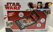 Disney Jakks Star Wars The Last Jedi Electronic Tabletop Pinball New