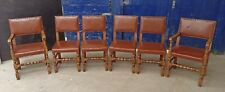 Titchmarsh & Goodwin ~Set of 6 Solid Oak Dining Chairs ~Cromwell? ~VGC