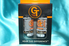 Precision Matched Pair of Groove Tube GT- 6L6--GED Medium Range Tubes, 5 Rating
