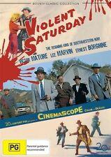 Violent Saturday (DVD, 2011) NEW & Sealed