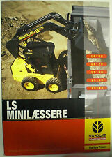 NEW HOLLAND LS MINILAESSERE 180 170 160 150 140  SALES BROCHURE DÄNISCH
