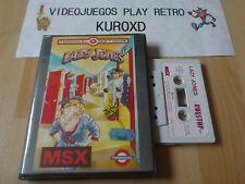 MSX LAZY JONES EDICION ESPAÑOLA