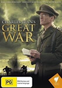 Charles Bean's Great War (DVD)  - Very Good Condition