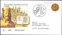 BRD 2006: Goldene Bulle! FDC der Nr. 2511 mit Berliner Stempel! Gelaufen! 1910