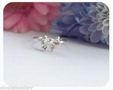 Bow Handmade Sterling Silver Fine Rings