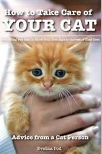 How to Take Care of Your Cat: Advice from a Cat Person : Everything You Need ...