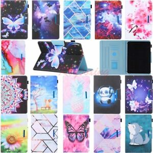 """Universal Various 10.1"""" 9.7"""" 8"""" 7"""" Android Tablet Folio Stand Leather Case Cover"""