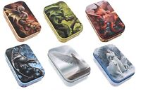 Anne Stokes Small Metal Tin Trinket Container Tobacco Storage Fantasy Mythical