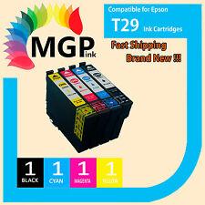 4x Compatible 29XL Ink Cartridges Epson Expression Home XP235 XP432 BK/C/M/Y