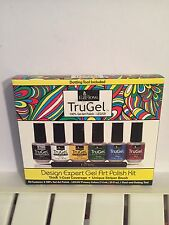 EzFlow TruGel Polish - LED / UV Gel Art Polish - Gel Art Kit Nail Art NIB