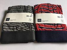 New Men's GAP Boxer Brief Underwear Graphic Designs 2 Pair Set Briefs Size Small