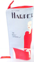 New Estee Lauder Harpers Bazaar Iconic Cover Cosmetic Bag Zipper Pouch Makeup 1