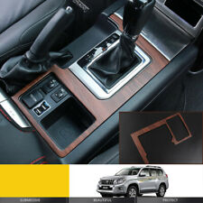 For Toyota prado FJ150 2010-2017 Peach wood grain Gear shift panel cover trim