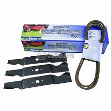 "Deck Maintenance Kit Cub Cadet/MTD 54"" 9540642,9420677B 3 BLADES 1 BELT (K15)"