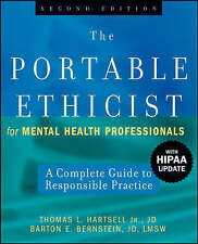 The Portable Ethicist for Mental Health Professionals, with HIPAA Update: A Comp