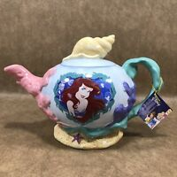 Westland Giftware Disney Ariel Mermaid Pearl of the Sea Teapot 40oz Ceramic
