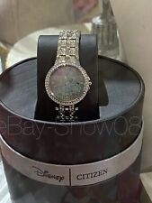 Fantasyland Castle Eco-Drive Watch for Women by Citizen LE SILVER New Box
