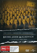 Being John Malkovich - Comedy / Adventure - John Cusack, Cameron Diaz - NEW DVD