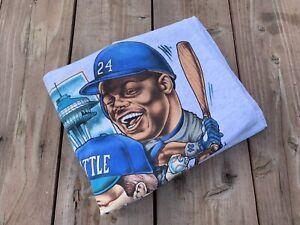 VTG. Ken Griffey Jr. Seattle Mariners T-Shirt Edgar Martinez MLB Baseball Sz XL