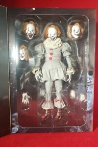 """IT 7"""" SCALE ACTION FIGURE ULTIMATE NECA WELL HOUSE PENNYWISE"""