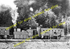 WW1 photo - Austrian Army armoured train, Isonzo front