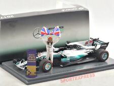 NEW 1/43 SPARK S5054 Mercedes AMG W08, Mexico GP 2017 WORLDCHAMPION Hamilton #44