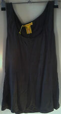 Catherine Malandrino Size US 4 AU 10 Charcoal Top Tank Tee Singlet New