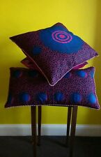 Home Decor Handmade Cotton Cushion Pillow Covers African Print Wax 45x45cm Gitf
