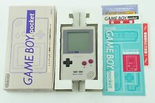 Nintendo Gameboy Pocket Grey Console GBP Box From Japan
