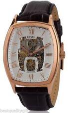 Relojes de pulsera Fossil de oro rosa de resistente al agua
