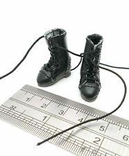SU-BT-XS-BLK: 1/12 XS Military Boots for Damtoy SHF Figma TBLeague female body