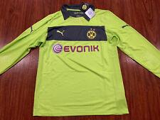 2012-13 Puma Men's Borussia Dortmund Long Sleeve Green Soccer Jersey XXL 2XL
