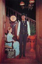 "Gary Cooper Grace Kelly High Noon 1952 4x6"" Postcard Movieland Wax Museum"