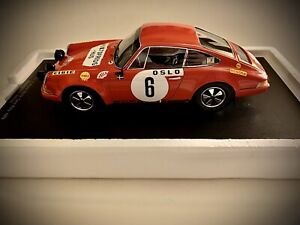 Spark 1970 Porsche 911S #6 Monte Carlo Rally Winner 1:18