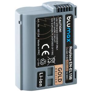 Akku für Nikon EN-EL15b | 2040mAh 65134 | EN-EL15 D600 D780 D800 D7500 /// Z6 Z7