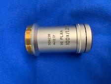 Leica Hi Plan 100x/1.25 Oil Objective