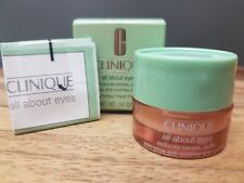 BOXED - CLINIQUE All About Eyes - REDUCES CIRCLES, PUFFS - All Skin Types 5mls