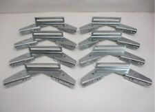 (8) V Wing Pontoon Boat Trailer Bunk Bolster Brackets  / Adjustable Galvanized