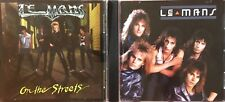 Le Mans- On The Streets, S/T (2 CD Lot) Heavy Pettin', Helix, Icon, TKO, Keel