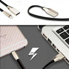 CABLE DATOS CARGA RAPIDA USB SYNC LIGHTNING 1M NEGRO Apple iPad iPod iPhone 8pin