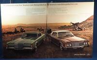 Vintage Magazine Ad Print Design Advertising Lincoln Continental