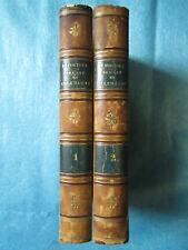 FORTOUL : DE L'ART EN ALLEMAGNE, 1841. 2 volumes in-8 complet.