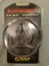 New Archery Products NAP Bloodrunner Replacement Blades 100 Grain 3-Pack
